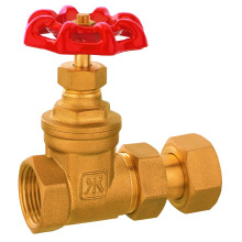 brass water meter gate valve, brass valve, 109 valve for water meter